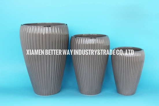 ceramic pottery for plants