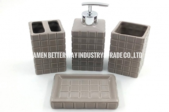 bathroom accessories sets ceramic