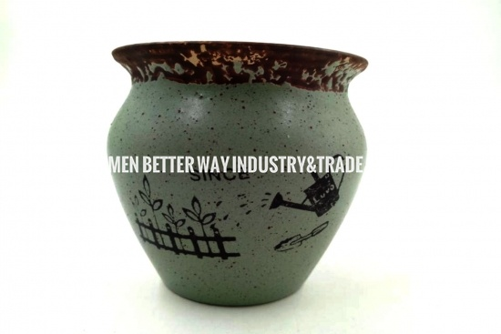 outdoor pottery vases