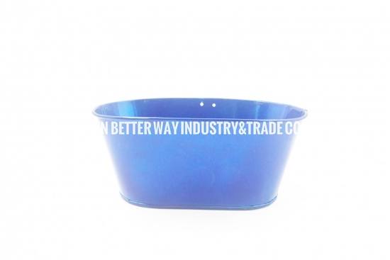 small galvanized buckets